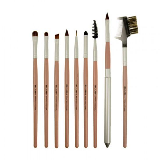 18 Piece Professional Make up Brush Set -REAL HAIR-