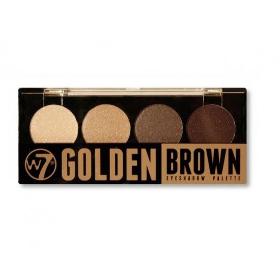 W7 - Eyeshadow palette - Golden Brown