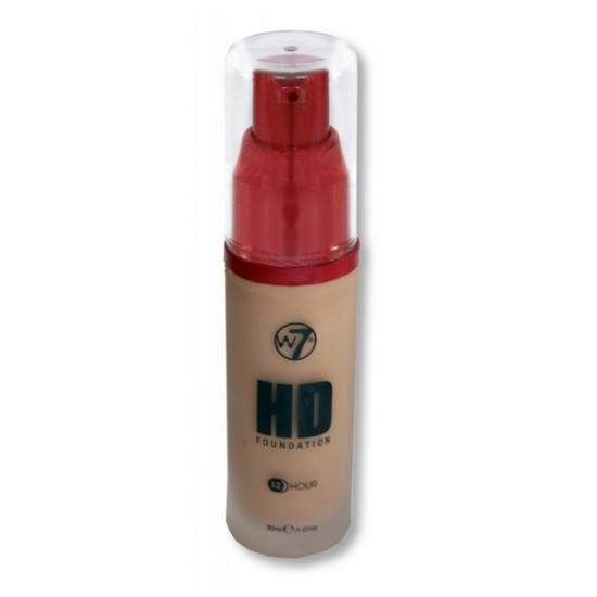 W7 - HD foundation - True Beige